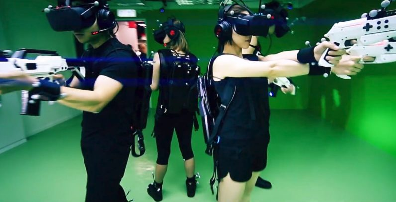 Sandbox VR Green Screen Volunteers