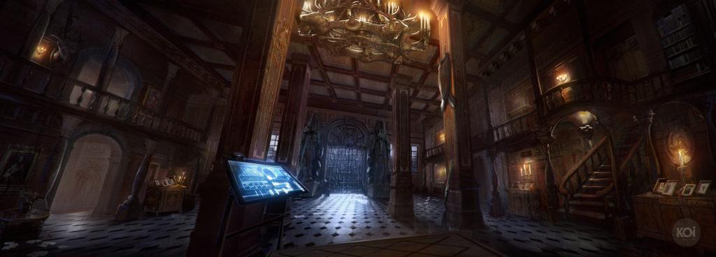 Deadwood Mansion VR Scene