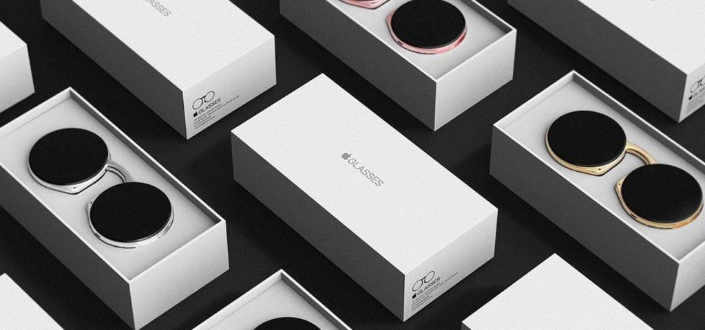 Apple AR Glasses Box Concept Art