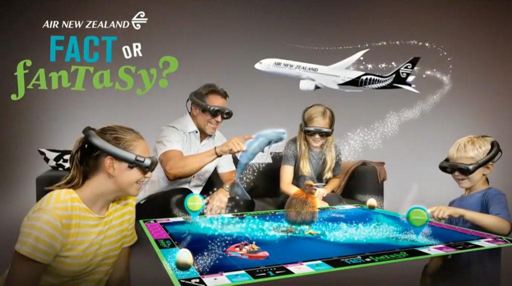 Air New Zealand Fact or Fantasy Magic Leap Experience